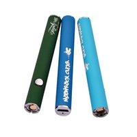 luz de hilo led al por mayor-Moonrock batería con USB de paso a través 350mAh recargable Batería Vape 3 colores 510 Tema de la batería de luz LED para Moonrock claras cartuchos