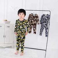 pyjama mignon achat en gros de-Pyjamas d'enfants Garcons Dinosaur pyjama Set Home pyjama pour enfants vêtements de nuit mignons filles bébé fille / garçon Vêtements Set LJJK1865