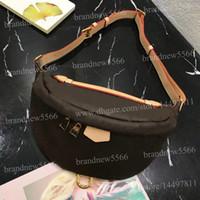 Wholesale black man bag resale online - Top Quality Women s Bumbag cross body Bag cm Genuine Leather Waist Bag Men s cross Chest Bags XLarge Shoulder Bag cm