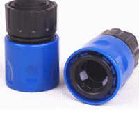 Wholesale water hoses resale online - Hot sale Quick release Garden Hose Pipe Adapter Connector Fast Connect