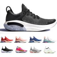 Wholesale athletics soft spikes for sale - Group buy Joyride Running Shoes For Men Platinum Tint University Red Racer Blue Core Black Fashion Mens Trainer Athletic Sport Sneaker Size