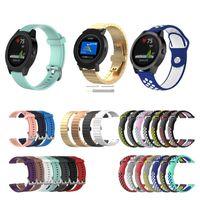 Wholesale samsung s smart watch for sale – best Smart Watch Straps for Samsung gear sport TicWatch E Garmin vivoactive music Watch Bands L S Size Strap Universal