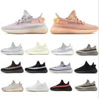 quality design 5df95 05b5f scarpe adidas yeezy boost 350 v2 mens designer scarpe da ginnastica di  design Sneakers Donna Semi congelato Sesame Kanye West Scarpe da corsa da  donna ...
