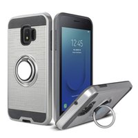 Wholesale galaxy light phone cases for sale - Group buy Car Mount Holder Magnetic Hybrid Phone Ring Case for Samsung Galaxy A8 Plus A5 S9 J7 Note J2 Pro Shockproof Cover