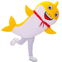 Wholesale movie star baby resale online - Baby Shark Mascot Costume Cartoon Character Birthday Party Carnival Festival Fancy Dress Adult Outfit