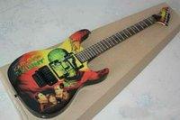 dalgalı ürünler toptan satış-24 ürün iki dalga elektro gitar KARLOFF TheMUMMY hatıra tarzı
