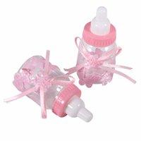 ingrosso scatola del bambino di battesimo-Bottiglia Baby Shower Gift Box Baby Bomboniere Bomboniere Bomboniere Bomboniere Bomboniere