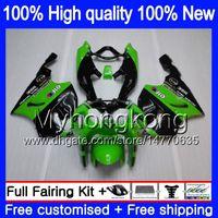 Wholesale kawasaki zx7r fairing black green for sale - Group buy Body For KAWASAKI ZX R MY ZX ZX R ZX ZX750 ZX R ZX7R Green black Fairing