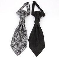 krawattenweste großhandel-Mode Herrenweste Doppel Krawatte Trendy Personality Gentleman Weste Krawatte