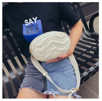 Wholesale small white korean backpacks for sale - Group buy 2019 new mini women s bag solid color PU leather embroidery thread Messenger Bag Fashion Korean version small backpack