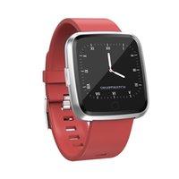 nouvelle vente de montres intelligentes achat en gros de-Vente chaude 2019 New Smart Fitness Bracelet En Acier Pression Artérielle Oxygène Sport Tracker Montre Moniteur de Fréquence Cardiaque Bracelet Fitbit Versa Ionic