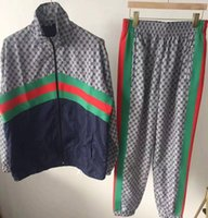 coole sweatshirt-designs großhandel-2019 Art- und Weisetrainingsanzug-Mann-Freizeit-Sport-Klage-Sportkleidung-Markenentwurf Rüttler-gesetztes kühles Sweatshirt geben Verschiffen M6 frei