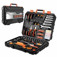 Wholesale car spanners for sale - Group buy DEKO Professional Car Repair Tool Set Auto Ratchet Spanner Screwdriver S
