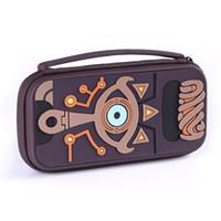cajas de juegos nintendo al por mayor-Accesorios para juegos Nuevo producto EVA Bolsa de almacenamiento rígido de viaje Bolsa de viaje para la caja del interruptor de Nintendo