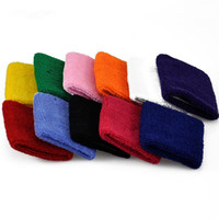 Wholesale wholesalers for outdoor accessories for sale - Cotton Elastic Wrist Support Protective Safety Gym Bracers Sweatbands Sporting Outdoor Accessory for Basketball Colors Free DHL M226F