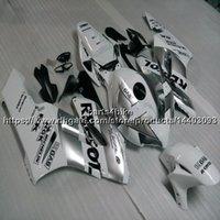 injeção personalizada venda por atacado-Custom + Parafusos de injeção moldes de prata motocicleta artigo para Honda 04 05 CBR1000RR 2004 2005 ABS Motor Carenagem