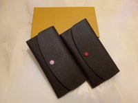 orange vintage brieftasche großhandel-Designer Wallet Herrenbrieftasche Reißverschlusstasche weibliche Designer-Mappen-Mode-Kartenhalter-Taschen-lange Frauen-Tasche mit Box