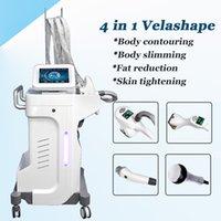 fettmassagewalze großhandel-Die beliebtesten Velashape Laser Maschinen Gewichtsverlust Roller Massage Körper Abnehmen Vakuum Roller Maschine Fettabbau