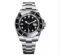 Wholesale bracelet watches resale online - New Ceramic Bezel Men s mm Stanless Steel Bracelet SEA DWELLER Automatic Movement Mechanical mens Watch Wristwatches Adjust buckle