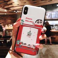 doraemon telefonlar toptan satış-İphone XS MAX Karikatür sevimli telefon kılıfı için Doraemon için Yumuşak silikon telefon kılıfı