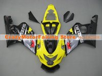 Wholesale High quality New ABS motorcycle Fairing Kits Fit For Suzuki GSXR600 K4 Fairings bodywork set custom yellow black