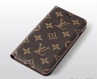 ingrosso cassa del telefono per la cordicella-Custodia in pelle di lusso PU portafoglio in pelle per iPhone X XS Max XR 7 8 8plus con slot per scheda cordino coperchio di protezione per 6 6S plus