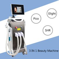 maschinen friseursalons verwenden großhandel-Picosure Laser Tattoo Entfernung Maschine E-Light IPL Hautverjüngung shr Light Hair Removal Machines Salongebrauch