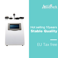sistema de cavitación al vacío ultrasónico. al por mayor-Máquina de adelgazamiento por cavitación de liposucción ultrasónica de efecto rápido 5in1 Sistema de RF de vacío para el cuerpo cara ojo
