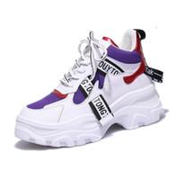 zapatos coreanos de otoño al por mayor-Super Fire Ladies Plus Velvet Sneakers 2018 Otoño e Invierno Nueva moda coreana Zapatos casuales Venta caliente Cálidos zapatos deportivos salvajes