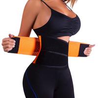apoyo para la ropa al por mayor-Ajustable Belly Trainer Cinturón Ropa Ropa Soporte Cintura Fitness Cinturón de Poder Tummy Adelgaza Underbust Control Corset