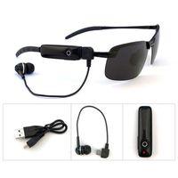 eller serbest güneş gözlüğü toptan satış-Moda Kablosuz Bluetooth Güneş Gözlüğü Bluetooth Kulaklık Güneş Gözlüğü Stereo Kablosuz Spor Kulaklıklar hands-free kulaklık mp3 müzik çalar