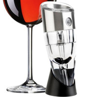 Wholesale whiskey tools resale online - News Speed Adjustable Wine Aerator Quick Aerating Wine Pourer Red Wine Whiskey Magic Aerator Decanter Pourer Spout with Holder Bar Tools