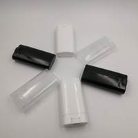 Wholesale lip twist for sale - Group buy 15ml black Deodorant Container Lotion Bar g Oval Twist Tube Round Lip oz
