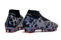 ingrosso i migliori mens di scarpe da sport-Migliori scarpe da calcio sportive originali EA Phantom VSN Shadow Elite Scarpe da calcio DF FG / AG da uomo Tacchetti da calcio per esterni
