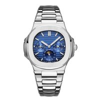 Wholesale new day rose for sale - Group buy 2019 New Top Nautilus Sports Watch Men Automatic Monement Watches Rose Gold Silver Case Stainless mens Mechanical Wristwatches Dial work