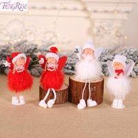 oyuncak yılbaşı ağacı toptan satış-FENGRISE Melek Bebek Noel Süs Çocuk Oyuncak Asılı Kolye Ev Noel Için 2019 Noel Ağacı Süslemeleri Navidad Hediye Yeni Yıl