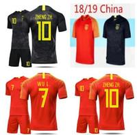 jerseys china venda por atacado-Clássico 2018/19 chinês preto dragão de futebol camisa de futebol preto Jersey a equipe nacional da china preto dragão Jersey nação