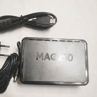 4.4 android 4k tv kutusu toptan satış-Mag322 MAG420 Linux Sistem Linux TV Box Media Player'ı akışı ile aynı Yeni Firmware R23 MAG250 STI7105 Set Üstü Kutu