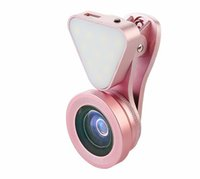 Wholesale sumsung smartphone online – Hot Selling Phone Camera Lens with Selfie Led Light x Wide Angle Camera and x Macro Lens For iPone Sumsung Smartphone