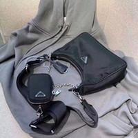 ingrosso uomini della borsa del corpo della traversa di modo-Moda sacchetto di colore nero marca famosa per gli uomini e le donne di nylon del sacchetto all'ingrosso dei nuovi prodotti cross-body con portafoglio piccole Coin