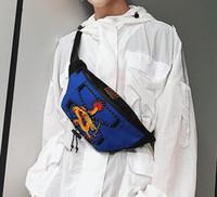 sacos saco grande venda por atacado-Marca de fábrica direto dos homens saco totem bordado bolsos grandes esportes de couro ciclismo saco de viagem ao ar livre bordado lazer pendurado saco de ombro