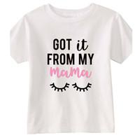 ingrosso camicie di carattere dei ragazzi-Abbigliamento per bambini Ragazzi Ragazze Top 2019 Estate Carattere Bambini Magliette Abbigliamento per bambini T-shirt 100% cotone Stampa Outwear ss409