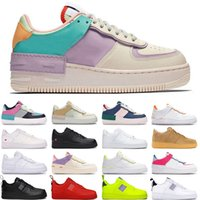 qualität orange schuhe groihandel-Nike Air Force 1 Herren Damen Designer Casual Sneakers Skateboardschuhe Sup Schwarz Weiß Utility Flachs High Cut Hochwertiger Herren Trainer Sportschuh 36-45