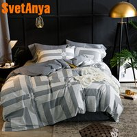 Wholesale teen bedding sets full for sale - Svetanya Teens Bedding Sets Egyptian Cotton Bed Linen Sheet Pillowcases Duvet cover set Twin Queen King Double Size