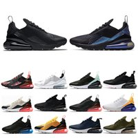 ingrosso run tee-nike air max 270 New Mens Womens Running Shoes Triple Bianco Nero Hyper Grape Navy Tea Berry Tiger Donne Sneaker Sneakers Sportive Scarpe Taglia 36-45