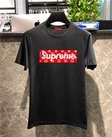 tops kız gömlek tasarımı toptan satış-Yeni yaz kadın erkek casual T-shirt Erkek kız tee İtalyan tasarım kısa kollu baskı öğrencileri T gömlek tops