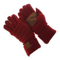 iphone eldiven yün toptan satış-Yeni Kış Örme Yün Dokunmatik Eldiven Sıcak Kış En Kaliteli eldiven Unisex iPad için iPhone Dokunmatik Ekran Eldiven için Functiona Eldiven