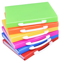 Wholesale a4 files folders for sale - Group buy Hot colored Pockets Expanding Files Folder A4 Expandable File organize Portable Accordion File Folder Office Document Briefcase bags