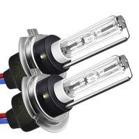bulbo levou 55w farol venda por atacado-2 peças LED duplo xenon faróis acessórios kit de conversão lâmpada H7 HID 55W 19Mar22