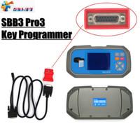 Wholesale car ecu reset resale online - Newest SBB3 Pro3 Key Programmer For Immobilizer Odometer ECU Reset Via OBD OBDII With Screen Auto Car Key Programmer